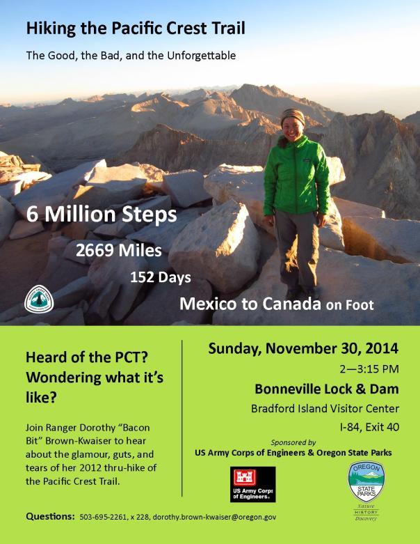 PCT Talk Flyer_Bonneville Dam