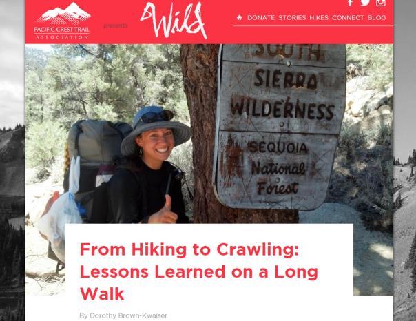 PCTA Wild Article