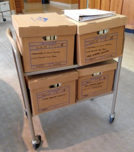 Boardman Files at State Archives