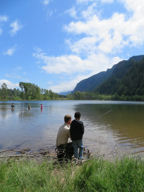 Columbia river gorgeous ranger 39 s blog for state parks in for Oregon free fishing